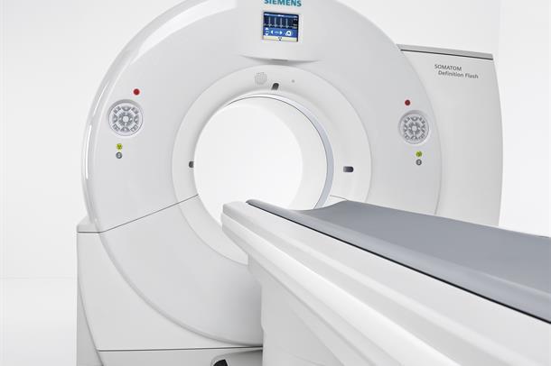 CT-maskin Siemens