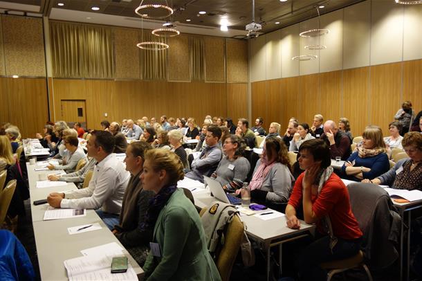 Plenumsbilde konferanse