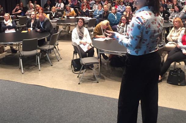 Lene Danielsen på pasientsikkerhetskonferansen