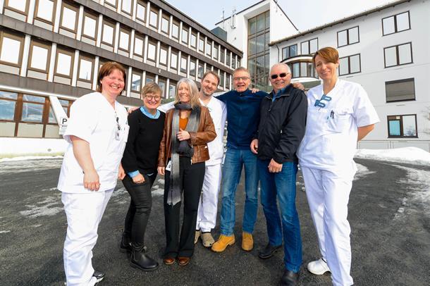 Organisasjonsutviklingen av Nye UNN Narvik pågår for fullt ved det nåværende sykehuset, og representanter for OU-prosjektet gled